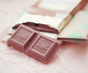 chocolate, pastel, and food image