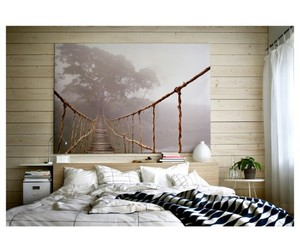 bed room, ikea, and inspiration image