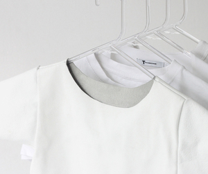 white, aesthetic, and t-shirt image