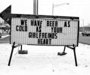 beer, girlfriend, and cold image