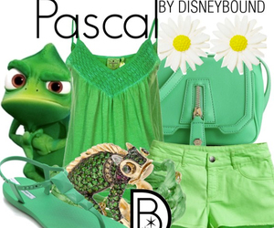 disney, pascal, and rapunzel image