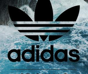 adidas, wallpaper, and water image