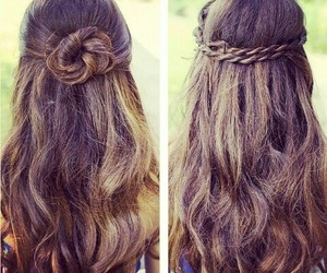 braid, bud, and hairstyle image