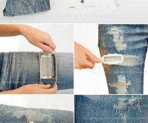 cloth, diy, and jeans image