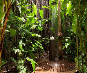 outdoor shower, itworks dreams, and private outdoor shower image