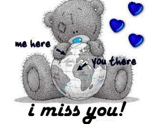 i miss you, teddy, and world image