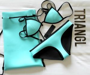 bag, bikini, and color image