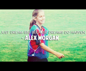 inspiration, quote, and alex morgan image