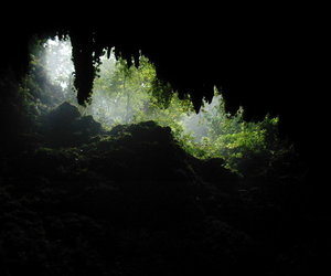 cave, nature, and caverna image