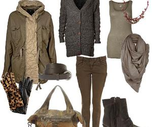 army, boots, and bag image