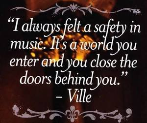 music, ville valo, and quotes image