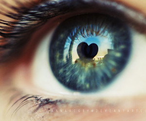 blue, eye, and heart image