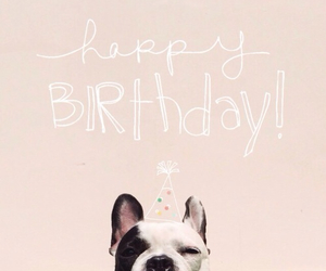 birthday, dog, and happy image
