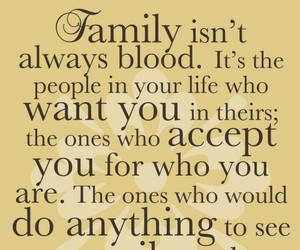 family, quotes, and friends image