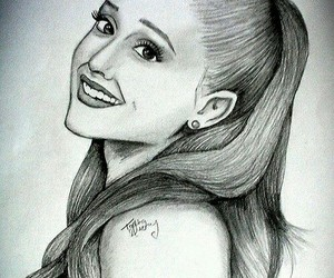 beauty, celebrity, and sketch image