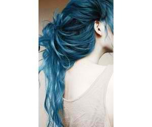 blue and haircolor image
