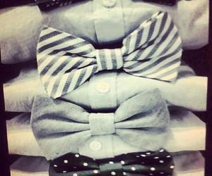 fashion, bow, and shirt image