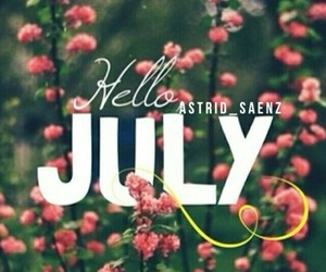 beautiful, flowers, and month image