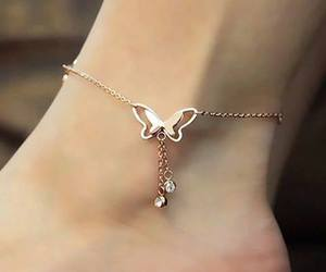 beautiful, butterfly, and jewellery image