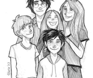 ginny weasley, harry potter, and lily luna potter image
