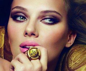 makeup, Scarlett Johansson, and make up image