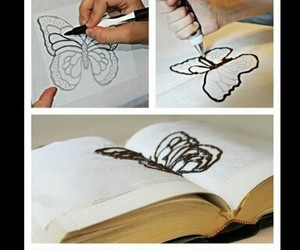 butterfly, diy, and food image
