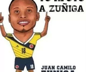 colombia and zuniga image