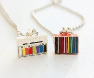 artist, colar, and jewelry image