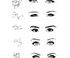 eyes, demi lovato, and katy perry image