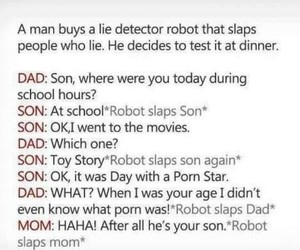 family, funny, and robot image