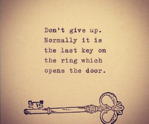 quotes, key, and life image