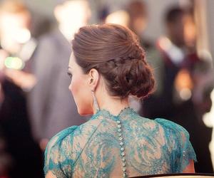 hair, fashion, and kate middleton image