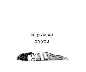 sad and giving up image