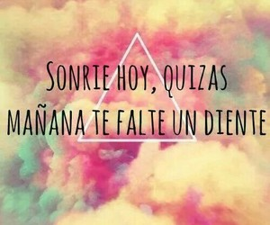 smile, tooth, and frases image