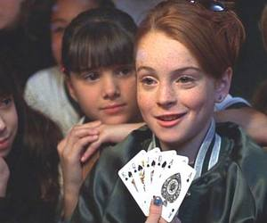 lindsay lohan, movie, and the parent trap image