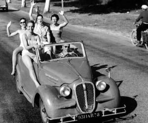 1950, black, and car image