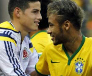 neymar and james rodriguez image