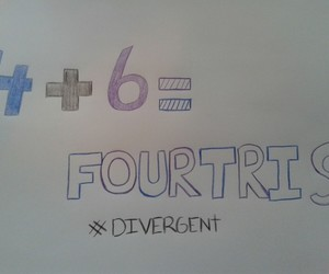 four, tris, and divergent series image