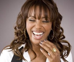 gorgeous, laughing, and aisha tyler image