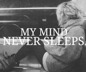 mind, sleep, and quotes image