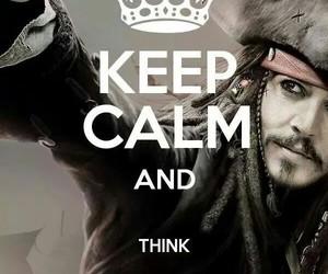 keep calm, captain jack sparrow, and Caribbean image