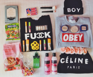 chanel, obey, and pink image