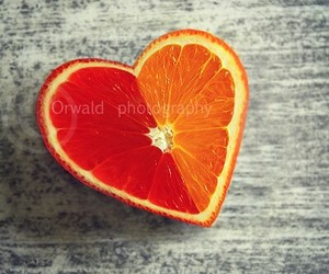 beautiful, fruit, and heart image