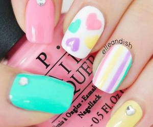 like, nails, and moda image