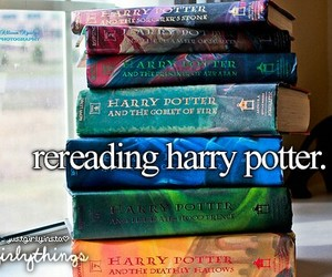 harry potter, book, and just girly things image