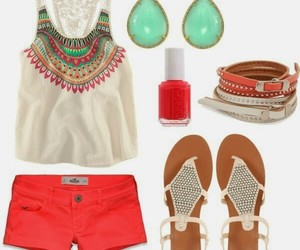 accessories, nail polish, and outfit image
