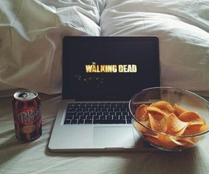 the walking dead, twd, and chips image