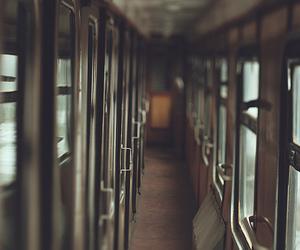train, harry potter, and hogwarts image
