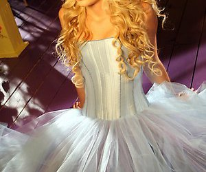 Taylor Swift, dress, and our song image