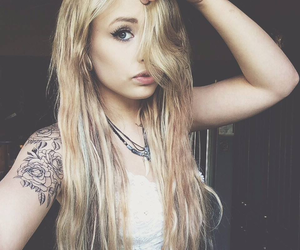 girl, tattoo, and danielle jackson image